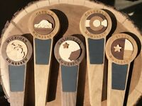 Custom Tap Handle - Choose Your State - Hand Crafted - Chalk Draft Beer Keg Beer
