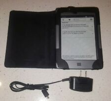 "AMAZON KINDLE TOUCH 4TH GEN D01200 4GB WIFI 6"" SCREEN GRAY EBOOK READER TABLET"