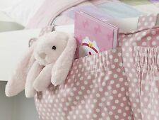 Night notte Pocket Rosa Ragazze letto ordinato, Nursery Storage Bunkbeds