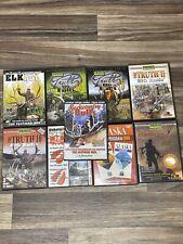 Lot of 9 Hunting Dvds; Bucks Elk Deer and More