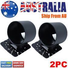 "2PC 52mm 2"" Universal Single Gauge Pod Mount Holder Bracket Meter Cup  Dash Auto"