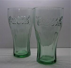 Coca Cola X 2 traditional glasses 16oz brand new