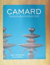 CATALOGUE DE VENTE CAMARD ARTS DECORATIFS DU XXe SIECLE DECEMBRE 2004