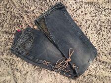 VITAMIN Z Blue Flared Jeans Size 12