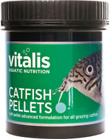 New Era Vitalis Catfish Pellets 120g Tropical Aquarium Fish Food 1mm Pellets