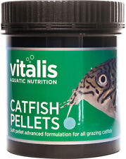 New Era Vitalis Catfish Pellets 120g Tropical Aquarium Fish Food 1.5mm Pellets