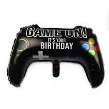 """23"""" Video Game Controller Mylar Foil Party Balloon 3 pack"""