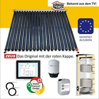 Vakuumröhrenkollektor Solar Set Röhrenkollektor Solarkollektor Hygienespeicher