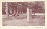 Rufus Stone, New Forest (Howard's Series, no. 23) 1900s. King William II 'Rufus'