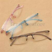 3 Colores Rimless Antifraying Gafas De Lectura Anteojos Presbicia: +1 ~ +4