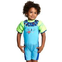 Zoggs Sea Saw Water Wings Floatsuit for Confidence Building in Aqua