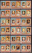 GUINEE EQUATORIALE  36 Présidents des Etats-Unis 52M-167D