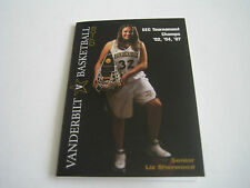 2007/08 NCAA BASKETBALL VANDERBILT COMMODORES WOMENS POCKET SCHEDULE