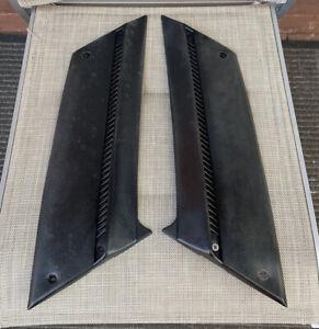 TOYOTA 1976-79 CROWN MS83 2600 DELUXE GENUINE LH-RH BLACK INTERIOR PILLAR TRIMS!