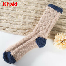 Extremely Cozy Cashmere Socks Women's Winter Warm Sleep Bed Floor Home Fluffy JF