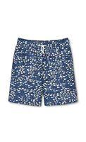 Vineyard Vines Target Boys School of Whales Swim Trunks Blue XL Board Shorts
