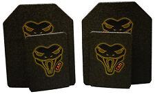 CATI AR500 BODY ARMOR BASE COAT SET 10x12s & 6x8 SIDE Plates FAST SHIP!!