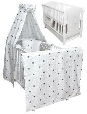Babybett Juniorbett Mond Bettset  Minky Komplett Matratze Schublade 120x60 Neu
