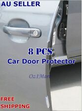 8 Pcs Clear Car Side Door Edge Protector Defender Trim Guard Protection Strip