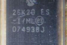 LOT OF 61 PIC18F26K20-I/ML 8-bit Microcontrollers - MCU 64KBFlash 3968 RAM25 I/O
