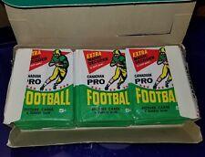 1964 CFL TOPPS  FOOTBALL WAX PACK Box Full OPC O-pee-chee 36 Mint Packs