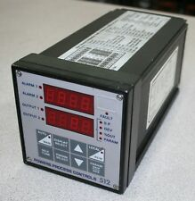 Powers Process Controls 512 Controller 110V, Input: V/mA, Out1: Rly, Out2: Rly