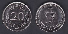 MAURITIUS   20 CENTS 2003   FDC / UNC