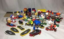 Tech Deck Dudes  Lot Of Figures And Magnetic Boards And Extras