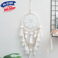 Handmade Macrame Natural AU STOCK Large Hairball Wall Hanging New Dream Catcher