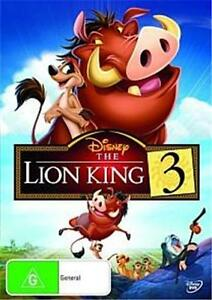 THE LION KING 3 : NEW DVD