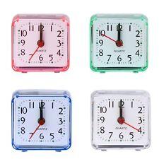 Carré Petit Lit Compact Voyage Quartz Bip Réveil L'horloge Mignon Portable