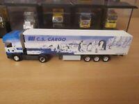 (P5) Herpa LKW H0 1:87 Scania Sattelzug C. S. Cargo