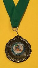 CUSTOM SCHOOL LOGO MEDAL SMALL MEDALLION TEAM AWARD FREE ENGRAVING FREE SHIPPING