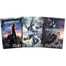 The Divergent Series Original + Insurgent + Allegiant Complete Box / DVD Set(s)