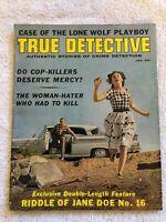 Vintage TRUE DETECTIVE Magazine January 1964 True Crime Drama COMPLETE Ac/G