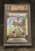 EZEKIEL ELLIOTT PRIZM RC Blue Wave/149 BGS 10 Pristine Gold Label POP 4
