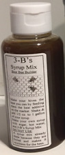 1 bottle of 3-B's Syrup Mix is good for 5 gallons of your syrup. FEED YOUR BEES!