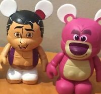 Set Of 2 Vinylmations Aladdin Lotso  Disneyland Disney