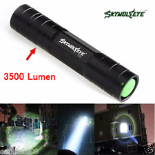 Brightness 3500 Lumen 3 Modes CREE XML T6 LED 18650 Flashlight Torch Lamp Light