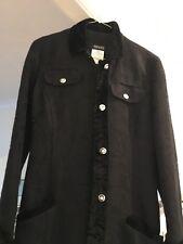 Stunning Versace Classic black Coat XS brand new