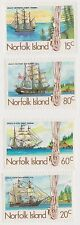 (OU-181) 1985 Norfolk Island 4set whaling 2nd issue SG360-3 MUH