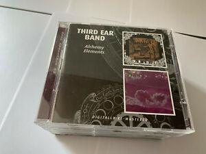 ALCHEMY, ELEMENTS ~ Third Year Band, Third Ear Band  2 CD - MINT