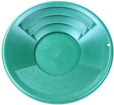 Goldwaschpfanne SE Gold Pan 14'' - 35 cm grün Kunststoff Goldwaschen Waschpfanne