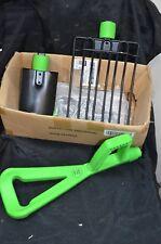 Gardenomic Mulch Fork & spade Garden Rake Tiller Tines Hand Cultivator Shovel