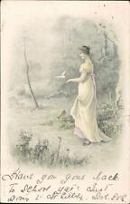 Nellie Elliott. 'Beechfield', Belsay, Northumberland 1903  QR1119