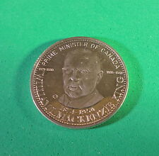 MEDAL  - William L. Mackenzie King - Prime Minister of Canada - -