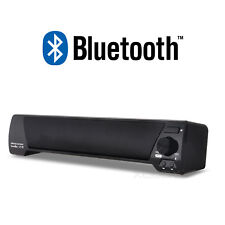 Wireless / Wired Portable Stereo Speaker w/ Bluetooth for Computer Laptop