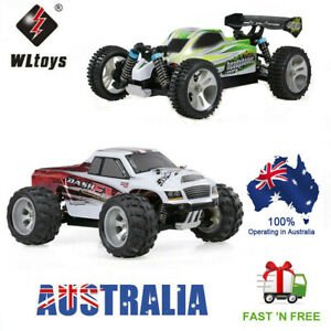 WLtoys 1/18 RC Truck 70KM/H Electric RC Buggy Car 2.4G 4WD OFF Road RTR Car