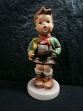 "Old Hummel Goebel "" Trumpet Boy "" Girl Figurine - Retired"