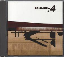 GALLIANO / 4 * NEW CD 1996 * NEU *